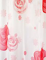 Shower Curtain высокого класса Красная роза печати W71 L71 X