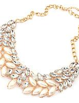 Pearl Golden Rhinestone Necklace