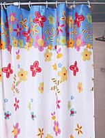 Shower Curtain красных роз печати W78 L71 X