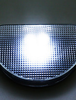 Cool White Light LED Solar Powered Outdoor Path Wall Garden Fence Light Lamp