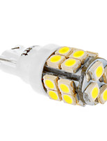 T10 20x3528SMD 194 168 W5W 6000-6500K Cool White Light LED Bulb for Car (12V)