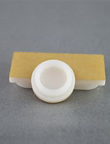 Porcelain white acrylic snack plate height of 6 mm diameter 18 mm for Ants