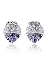 Elegant Alloy Rhinestone & Crystal Women's Earrings(More Colors)