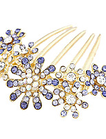 Crystal Flowers Bridal Hair Sticks