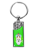 Personalized Rectangle Asian Style Keychain - Female Lead Heroine in Peking Opera