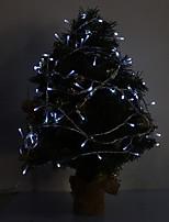3W 96-LED 210LM White/Blue Light LED Strip Light for Christmas Decorations (24V)