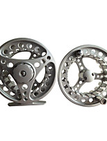 Professional Silver Metal Fishing Fly Reel With A Spare Reel