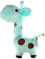 Cute Cartoon Blue Giraffe Novelty Pillow