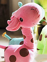 Cute Cartoon Pink Giraffe Novelty Pillow