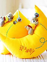 Lovely Cartoon Star And Moon Shape Novelty Pillow