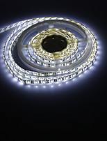 5M 14.4W 60x5050SMD White Light LED Waterproof Strip Light (DC 12V)