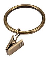 טבעת קליפ וילון מוצק סגנון רטרו (קוטר 3.8cm)