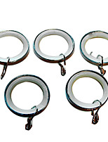 טבעת קליפ וילון פלסטיק עמיד משתיק (קוטר 3.5cm)