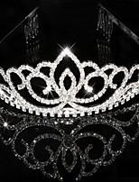 Bridal Wedding Princess Pageant Prom Crystal Tiara Crown Pannebånd