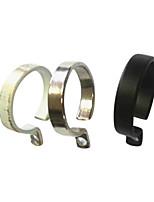 טבעת מינימליסטי מוצקה מודרנית קליפ Ringent מוצק - 10pcs (קוטר 2.6cm)