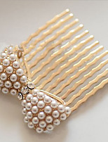 MISSING U Alloy / Imitation Pearl / Rhinestone Hair Combs Daily / Casual 1pc