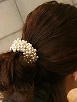 Moda corda Contas Assorted cor da tela Ties cabelo para as mulheres (mais cores) (1 Pc)