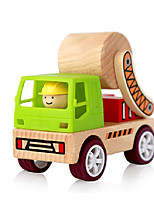 Delicate Removable Wooden Enlightment Street Roller Toy