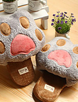 Adorable Bear Claw Wool Slide Slipper - 3 Colors Avaliable