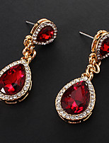 Earring Drop Earrings Jewelry Women Party / Daily / Casual Alloy Gold