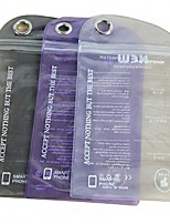 Сплошной цвет водонепроницаемый пластиковый пакет для iPhone 5/5S (случайный цвет)