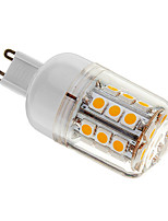 E14/E26/E27 4 W 30 SMD 5050 400 LM Warm White/Cool White Dimmable Corn Bulbs AC 220-240 V