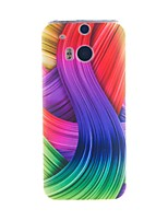 Для Кейс для HTC С узором Кейс для Задняя крышка Кейс для Полосы / волосы Мягкий TPU HTC