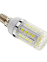 E14 5 W 36 SMD 5050 480 LM Warm White/Cool White Dimmable Corn Bulbs AC 220-240 V