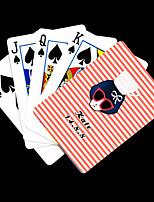 Персонализированные шаблон подарков Розовый красоты игральных карт