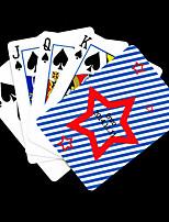 Персональный подарок звезда шаблон Playing Card для покера
