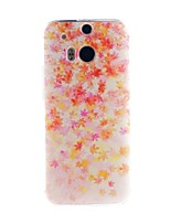 For HTC Case Pattern Case Back Cover Case Tile Soft TPU HTC