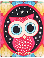 Pattern Owl PU Leather Case cuerpo completo con soporte para iPad 2/3/4