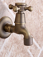 9.5*5*10 Brass Brushed cold water Sink Faucet