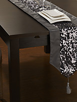 Modern Style Sequins Design Table Runner