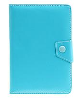 7 polegadas Case Bag Couro Universal PU com suporte para Tablet PC
