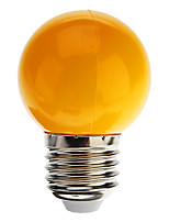 E26/E27 0.5 W 7 Dip LED 50 LM Blue / Yellow / Green / Red / Cool White G45 Decorative Globe Bulbs AC 220-240 V