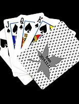 Персональный подарок Кленовые листья рисунок серый игральная карта для покера