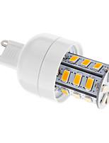 5W G9 Ampoules Maïs LED T 24 SMD 5730 80-350 lm Blanc Chaud Gradable AC 100-240 V