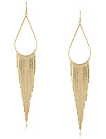 Drop Earrings Women's Gold Earring Non Stone