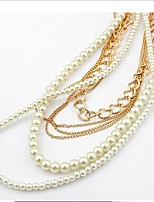 Miss ROSE®Multilayer Pearl Alloy Necklace\ \ \ \ \ \