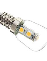 1W E14 Lâmpadas Espiga T 7 SMD 5050 60-70 lm Branco Quente Decorativa AC 220-240 V