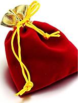 (Случайный цвет) шифон Горячая Золотой Открытие золотой пряжи сумка Аксессуары для Pocket сумка Ювелирные изделия сумка луча (1PC)