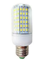 15W E26/E27 Ampoules Maïs LED T 126 SMD 2835 550 lm Blanc Froid Décorative AC 100-240 V