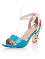Women's Shoes Chunky Heel Heels Sandals Outdoor/Office & Career/Dress/Casual Multi-color