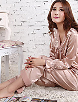 Pajama Donna Acrilico/Pizzo/Rayon Sottile