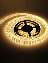 Waterproof 5M 144W 600x5050SMD Warm White Light LED Strip Lamp (DC 12V)