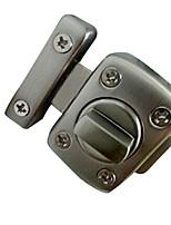 40mm x 56mm Rechteckige Brushed Zink-Legierung Für Innen-Schiebetor Türriegel
