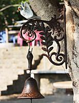 Europæiske retro Rustik malede Dove af smedejern Hånd-typen Door Bell