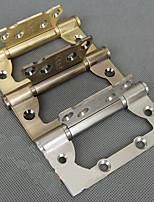 101mm × 76mm Composite-Mute Lager Edelstahl Ohne Schlitztürscharnier