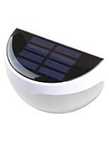 6-LED extérieur LED Solar Light Wall Light Paysage de pin-up Chemin lampe de jardin